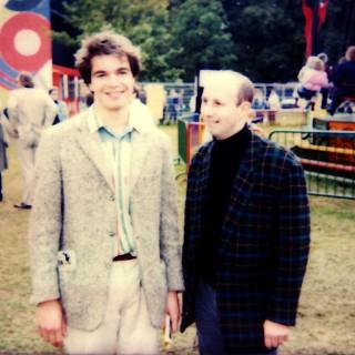 Peter Cadera und ich.