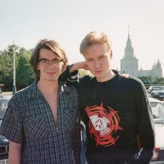 Renner und ich in Moskau