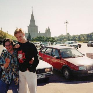 Tim Renner & Michail Sigaloff in Moskau