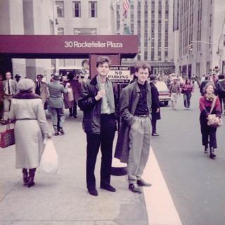 Walter und Ralf Hertwig in NY