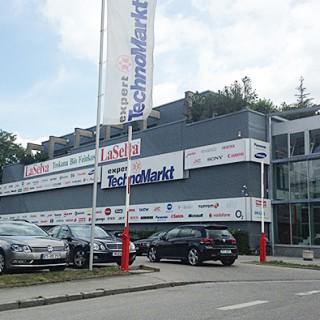 Im zweiten Stock befindet sich seit vielen Jahren das ECM-Büro.