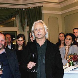 Manfred Eicher 2009 beim ECM-Empfang im Meistersaal