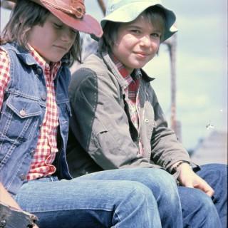 Jens Kraft und ich ca. 1975.