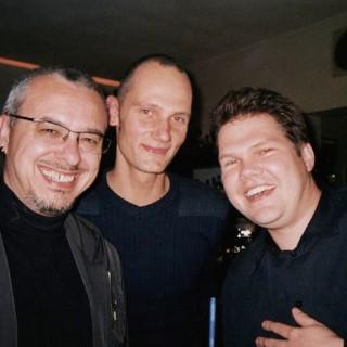 Ruud de Sera mit Krisz Kreuzer und Christoph Becker (v. l.n.r.)