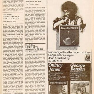 Fortsetzung der Ramones-Rezension