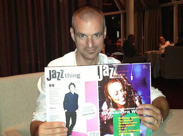 Jazzthing-Herausgeber Axel Stinshoff