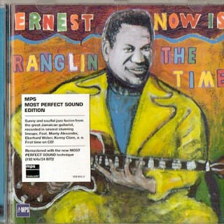 """Ernest Ranglin-Cover """"Now Is The Time"""""""