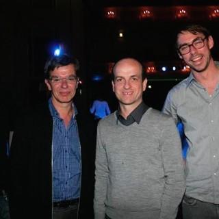Felix Feustel, Kelly, Matthew Herbert und Felix Mesenburg.