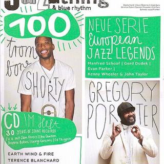 Die aktuelle Ausgabe der Jazzthing-Jubiläumausgabe