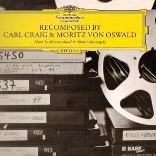 """LP-Cover von """"Recomposed by Carl Craig und Moritz von Oswald"""""""