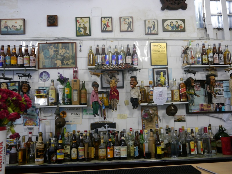 Bar do Mineiro in Santa Teresa.