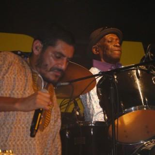 Criolo und Tony Allen