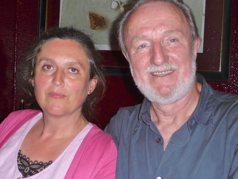Hannes mit seiner Frau Cordula im Cuneo.