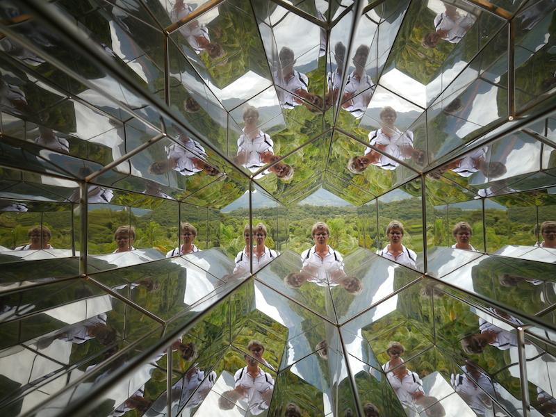 "Olafur Eliassons ""Viewing Machine"" in Inhotim."