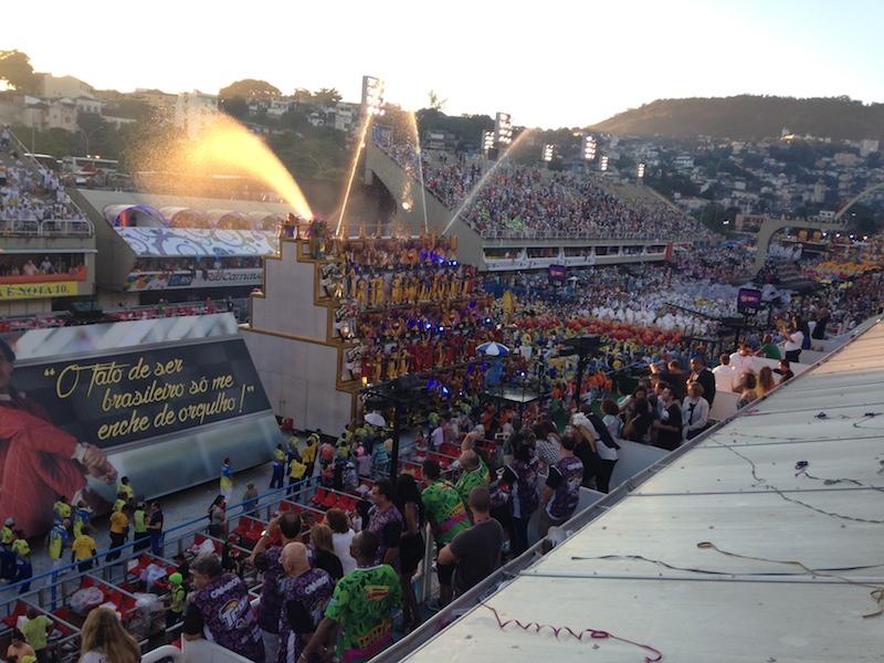 Die Gewinner des diesjährigen Karnevalswettbewerb: Uindos da Tijuca.