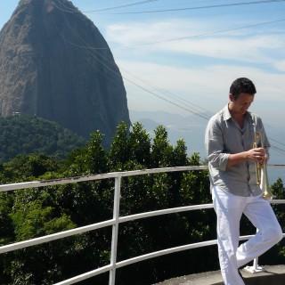 Till vor dem Zuckerhut in Rio.