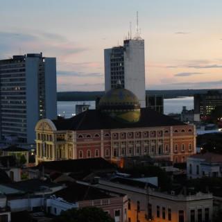 Blick auf das Teatro Amazonas.