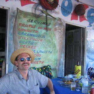 Zwischenstop von Detlef Diedrichsen in Bahia. Er stellte die erste deutsche  Veröffentlichung eines Chico Buarque Tonträgers zusammen.