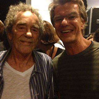 André Midani und Kelly in Rio. Fast hätte er es geschafft, Ogerman einmal nach Rio zu entführen.